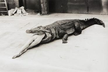 Helmut Newton - A Scene from Pina Bausch's Ballet, 1983.jpg